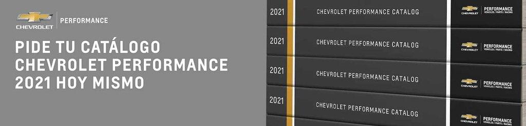 Pedir catálogo Chevrolet Performance 2021