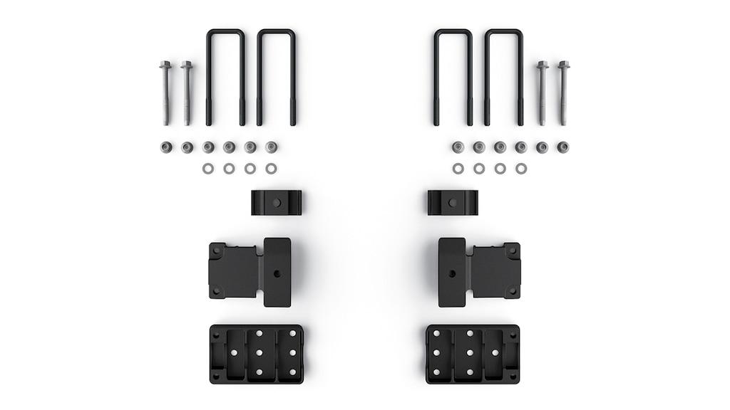 Accesorios de mejora de vehículos todo terreno Chevrolet Performance para la Colorado ZR2: Sistema de montaje con percutor de suspensión/hoja de muelle, N.° de parte 84422116