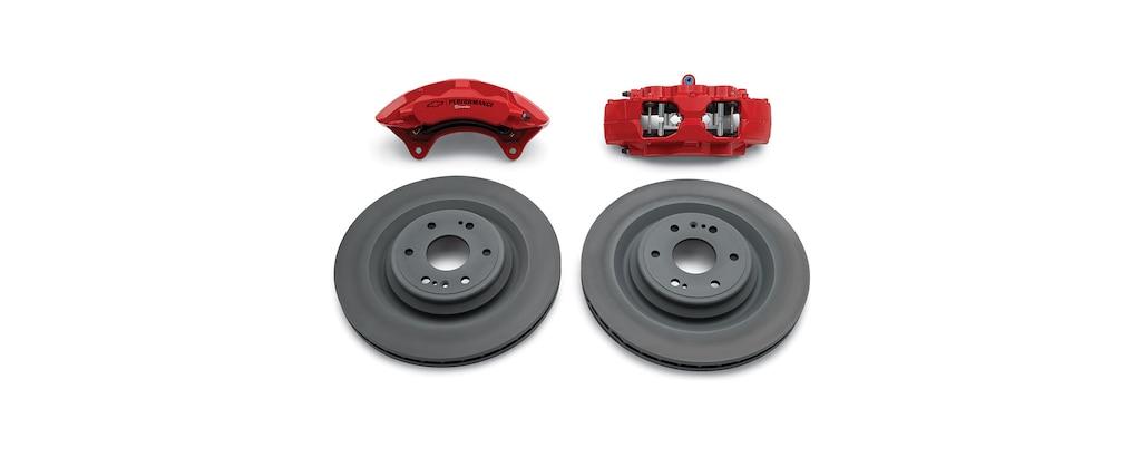 Kit de frenos delanteros de Chevrolet Performance para la Silverado