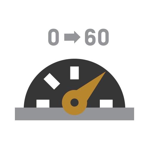 Ícono de 0 a 60