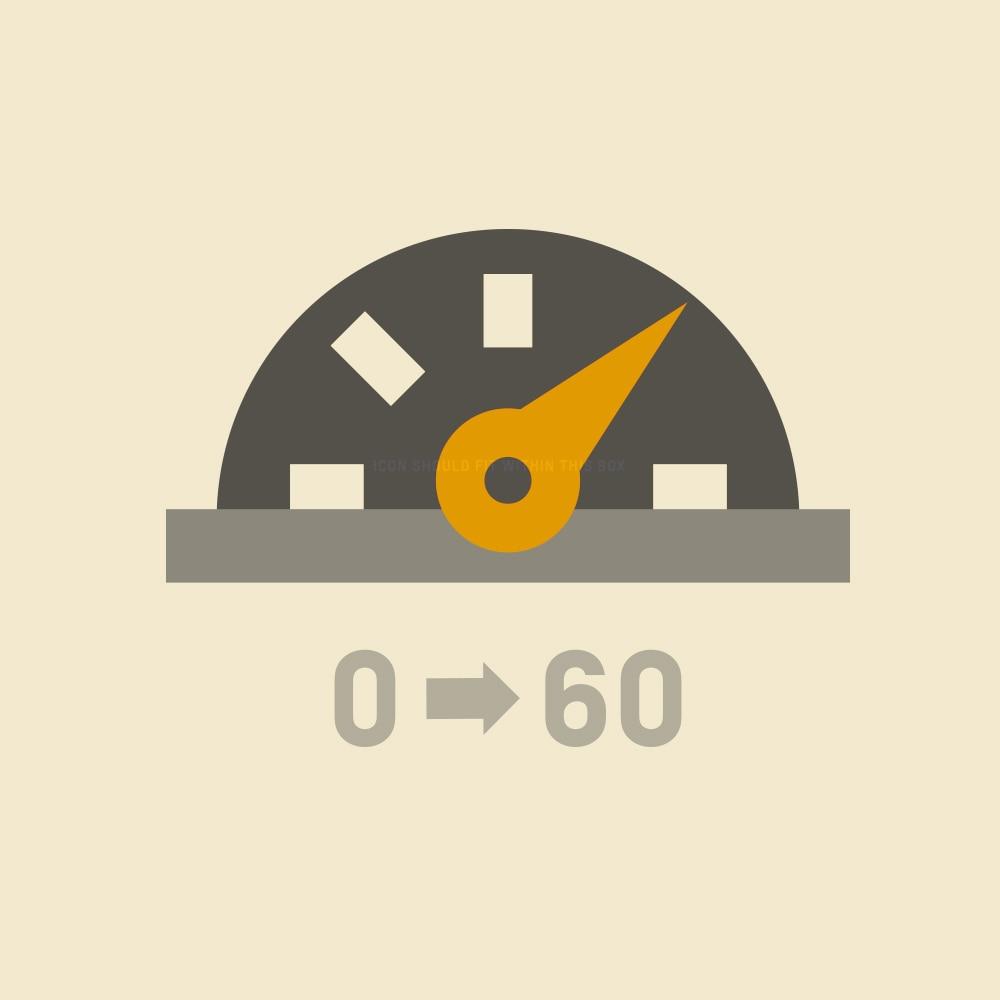 Por qué comprar: Velocímetro: 0-60