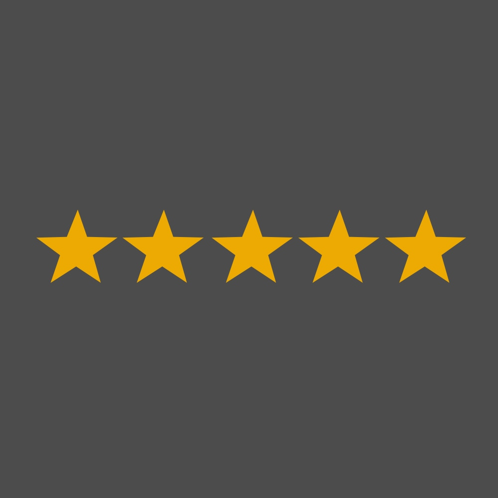 Five Star Safety Icon