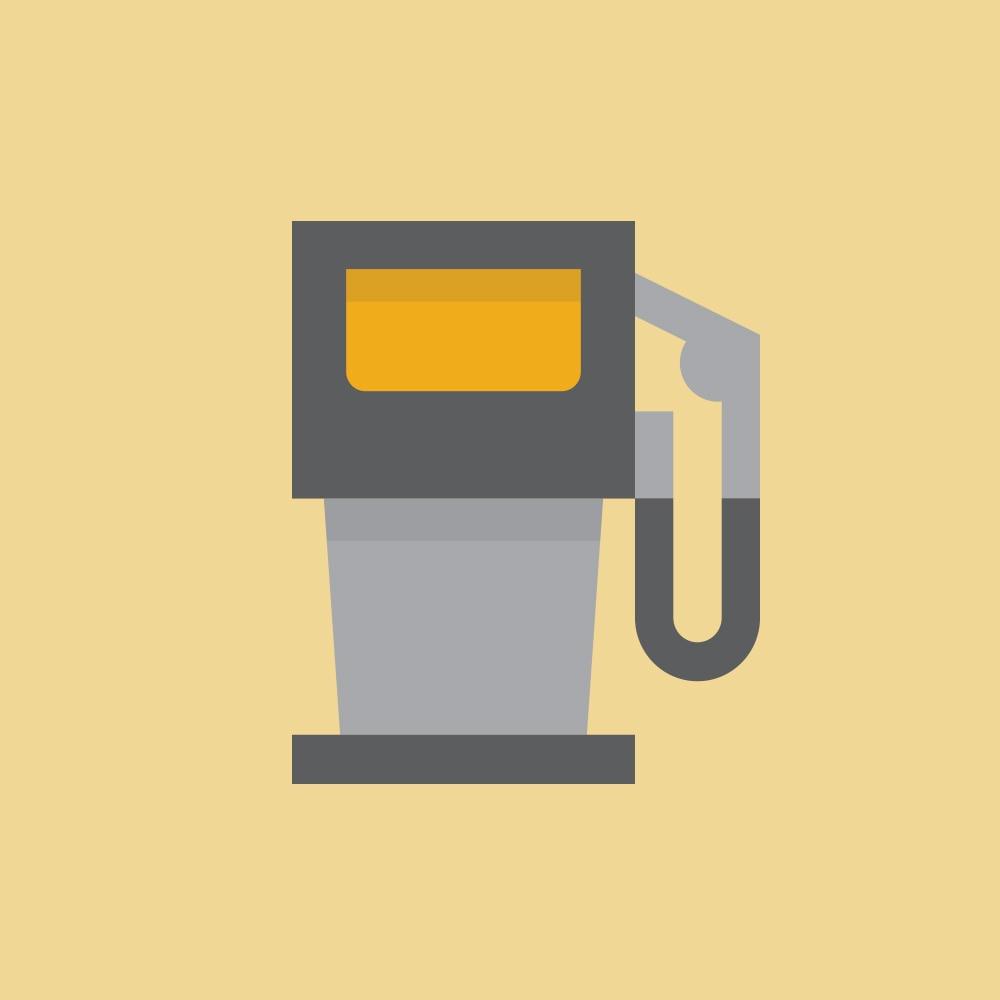 Miles Per Gallon Icon