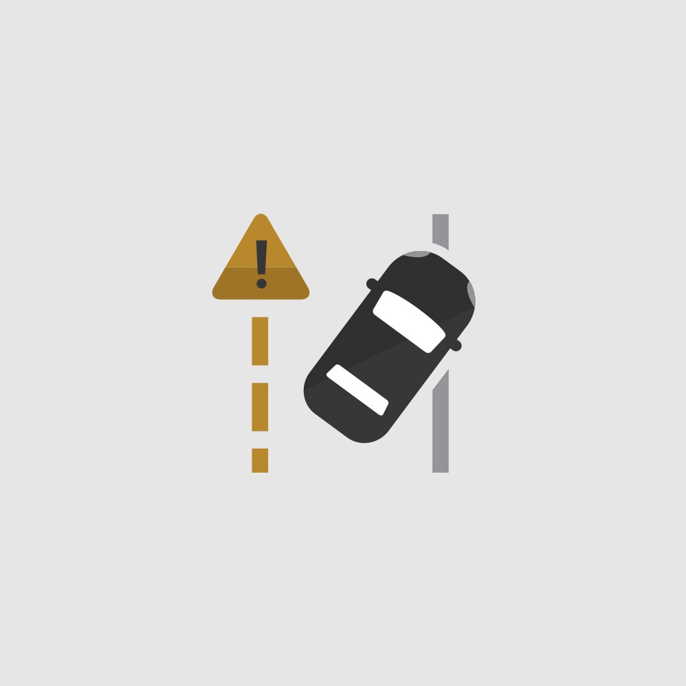 Ícono de Lane Departure Warning