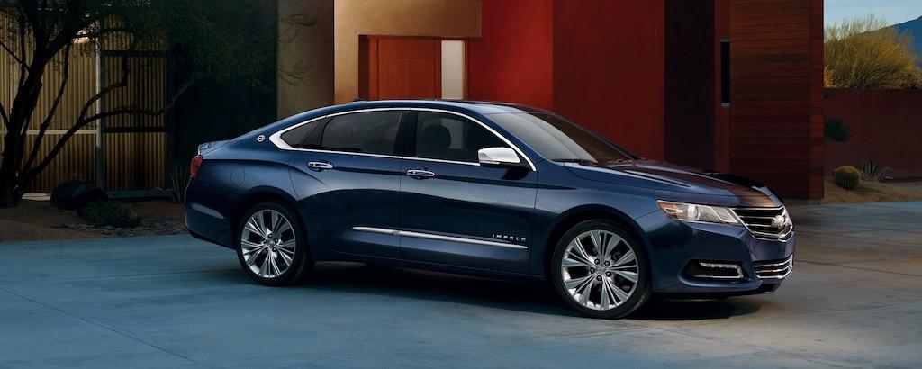 Auto de tamaño completo Chevrolet Impala 2019