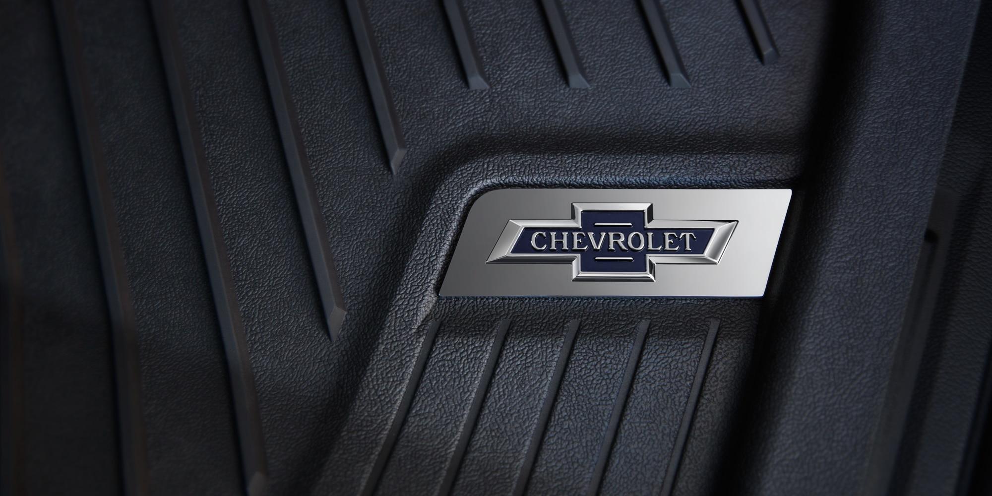 Camioneta Chevrolet edición especial Centennial: Alfombrillas Centennial
