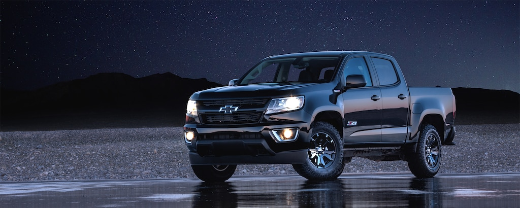 Ediciones especiales de la Colorado: Z71 Midnight