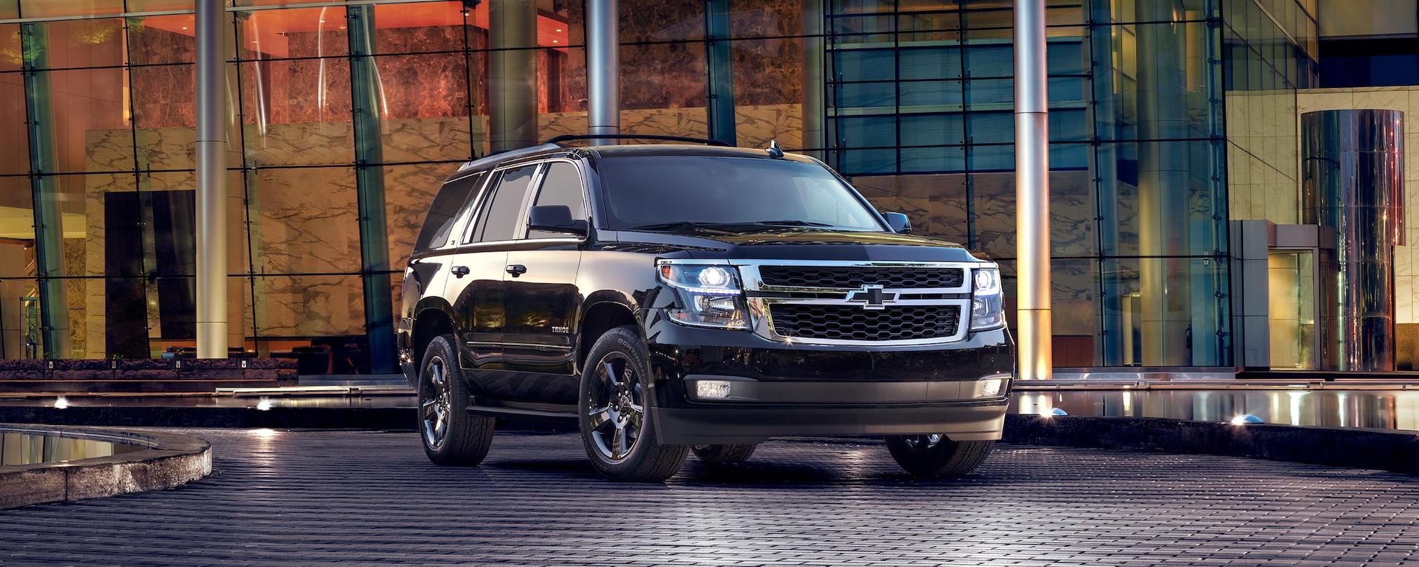 Vehículos comerciales de Chevrolet: SUV de tamaño completo Tahoe: perfil delantero