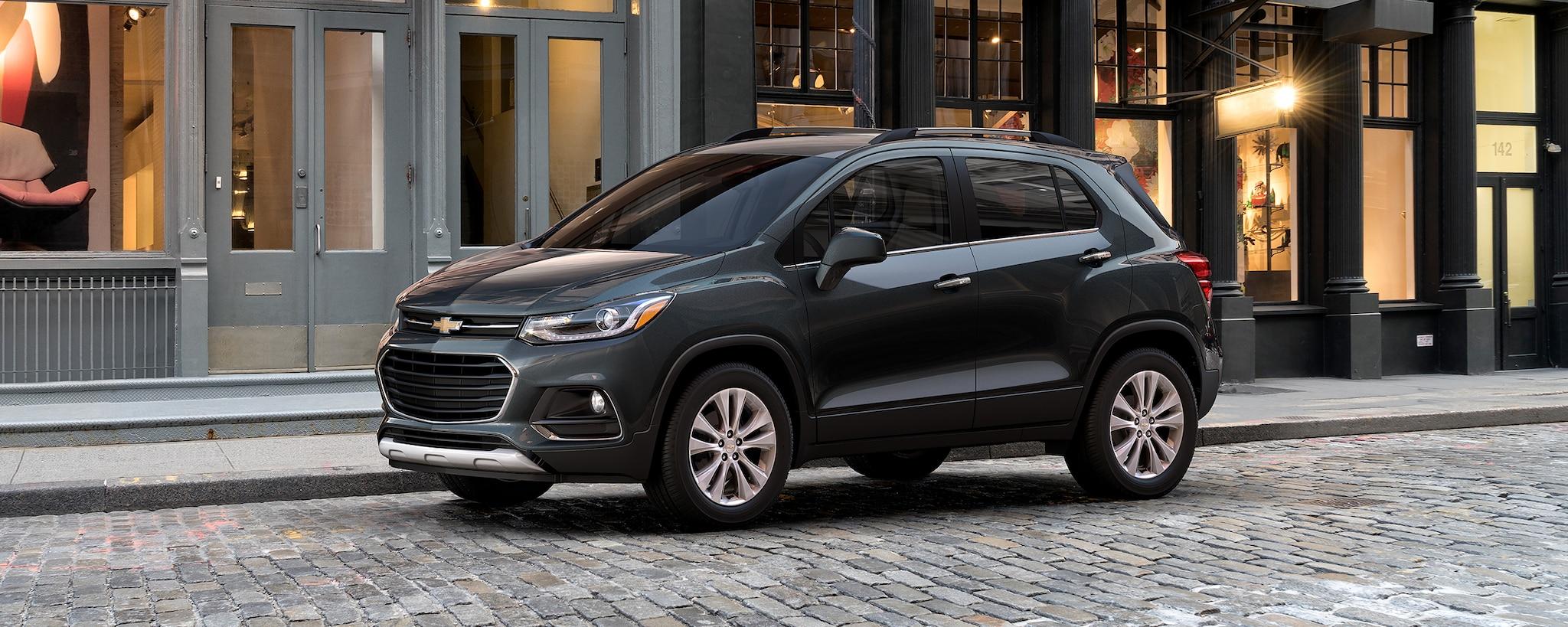 Vehículos comerciales de Chevrolet: SUV Trax compacta