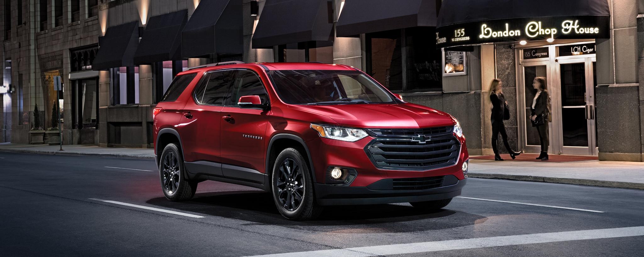 Vehículos comerciales de Chevrolet: SUV de tamaño mediano Traverse