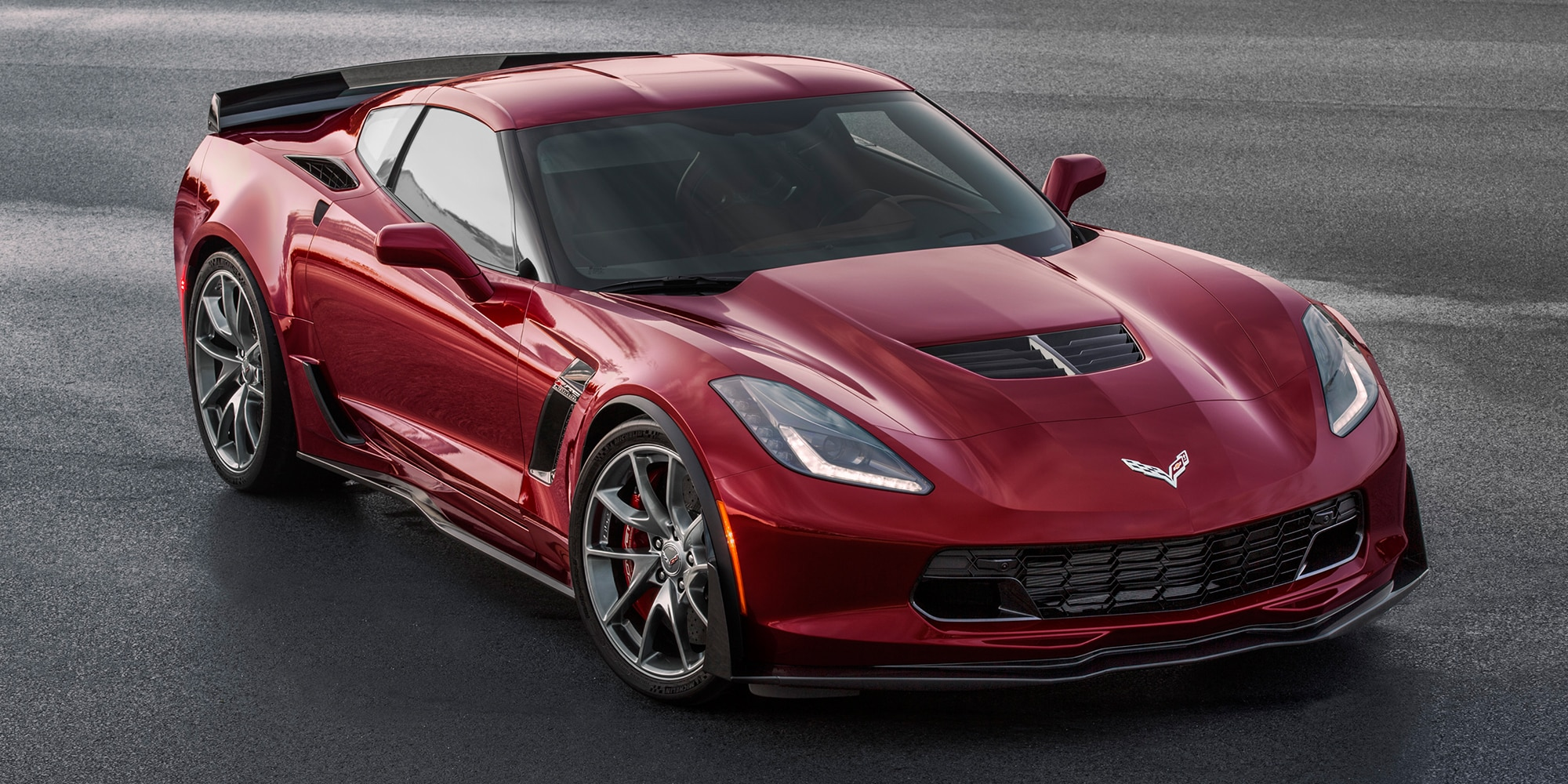 Ediciones especiales de Corvette. Paquete de diseño Rojo Especia