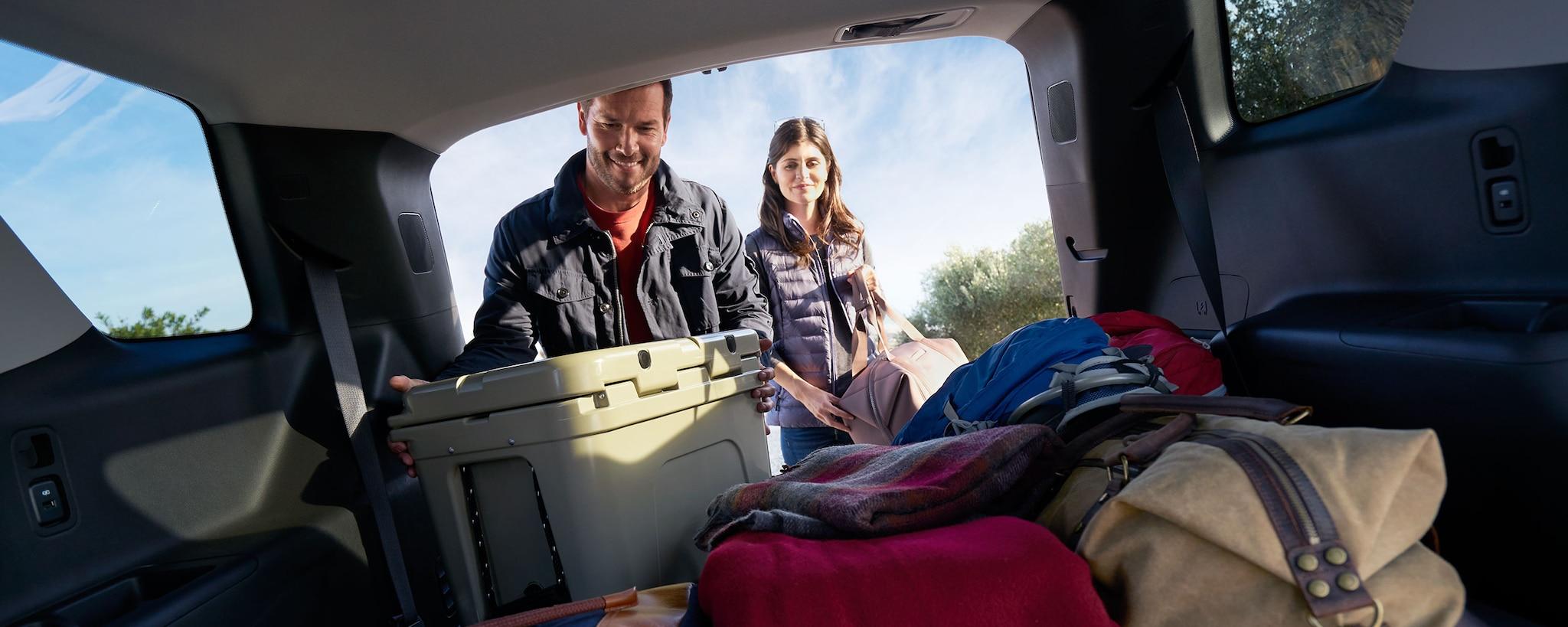 SUV Crossover de Chevrolet: Carga en la Traverse