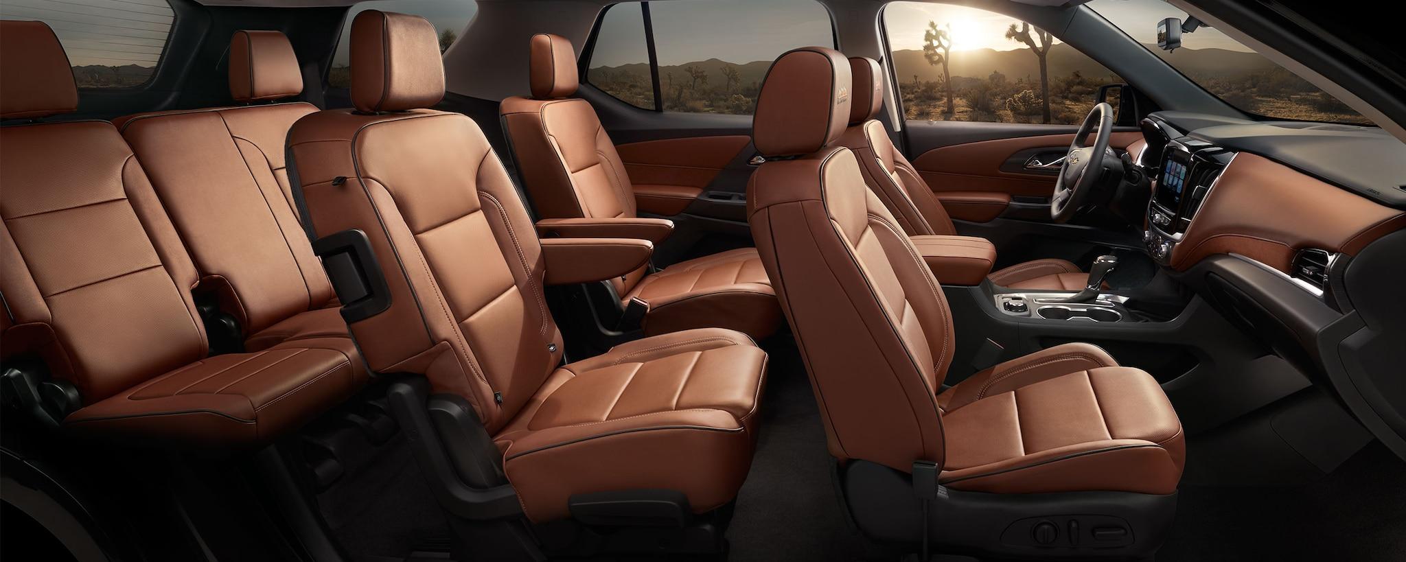 SUV Crossover de Chevrolet: Interior