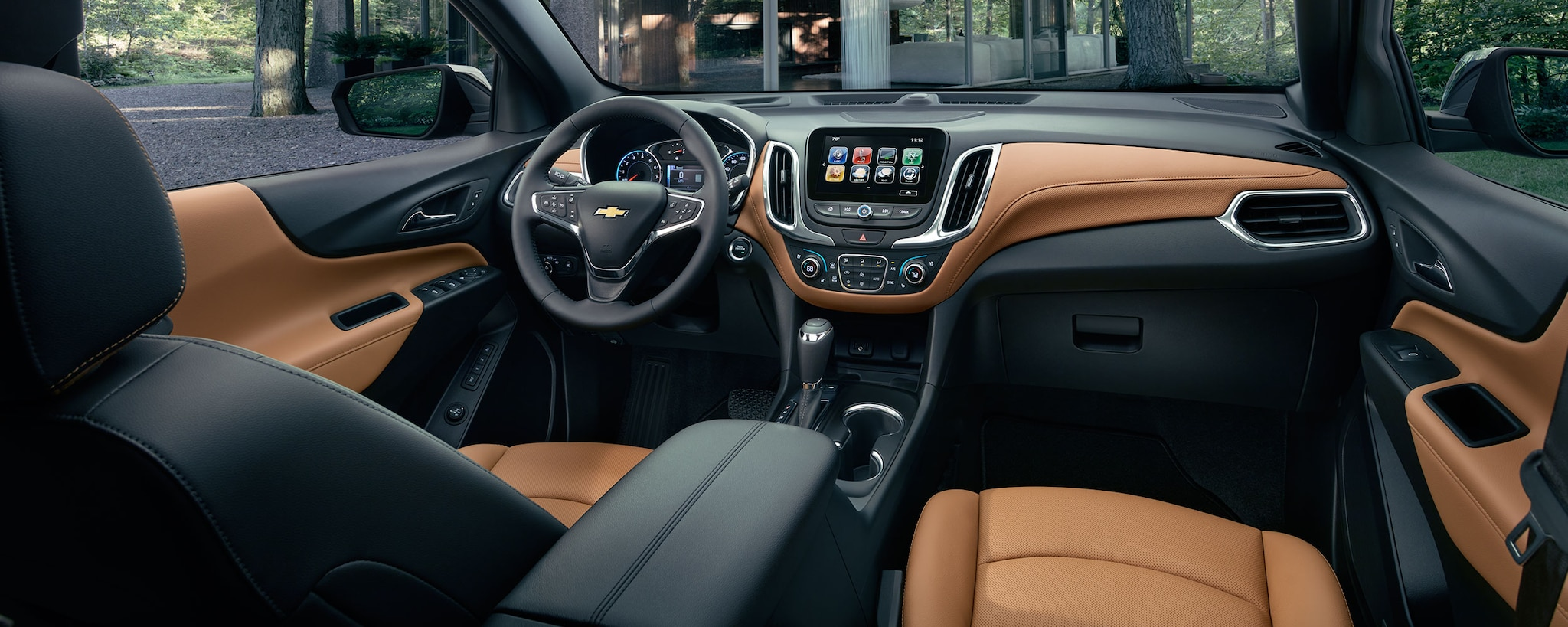 SUV Crossover de Chevrolet: Interior de la Equinox
