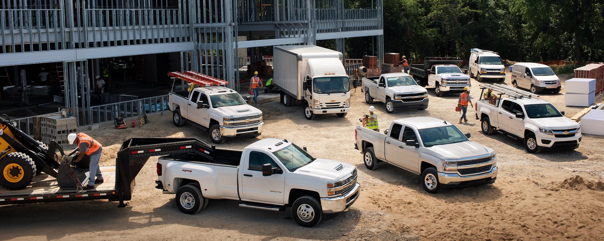 Vehículos comerciales de Chevy