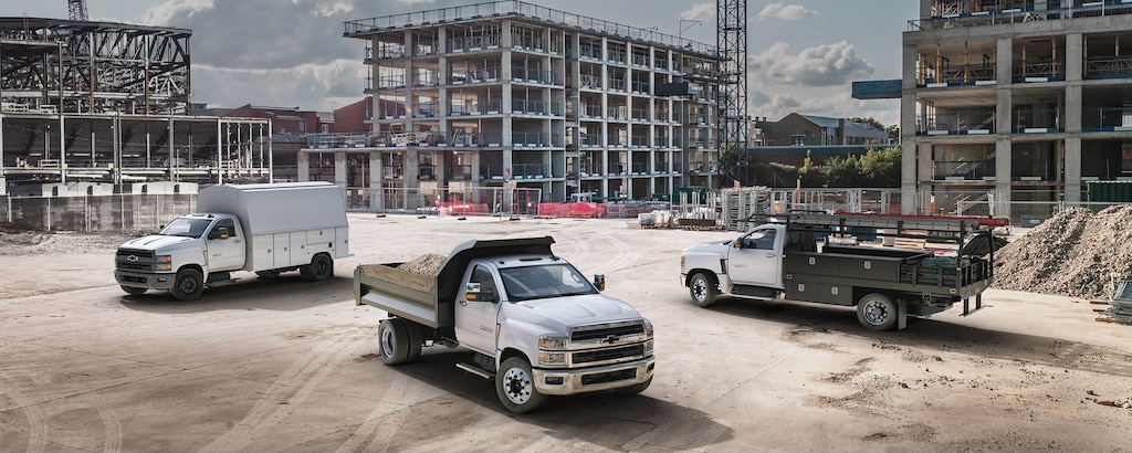 Línea completa de vehículos de flota Chevy para satisfacer tus necesidades