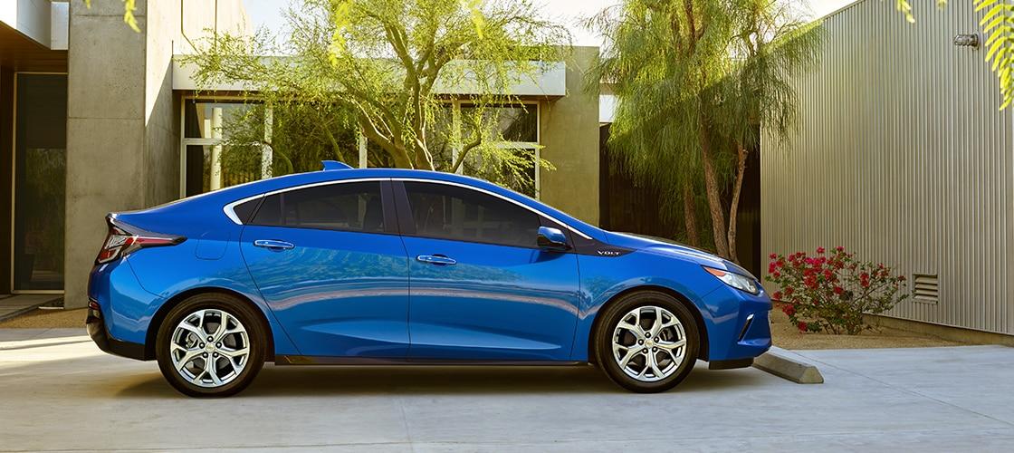 Vehículos Chevrolet híbridos y eléctricos: Volt