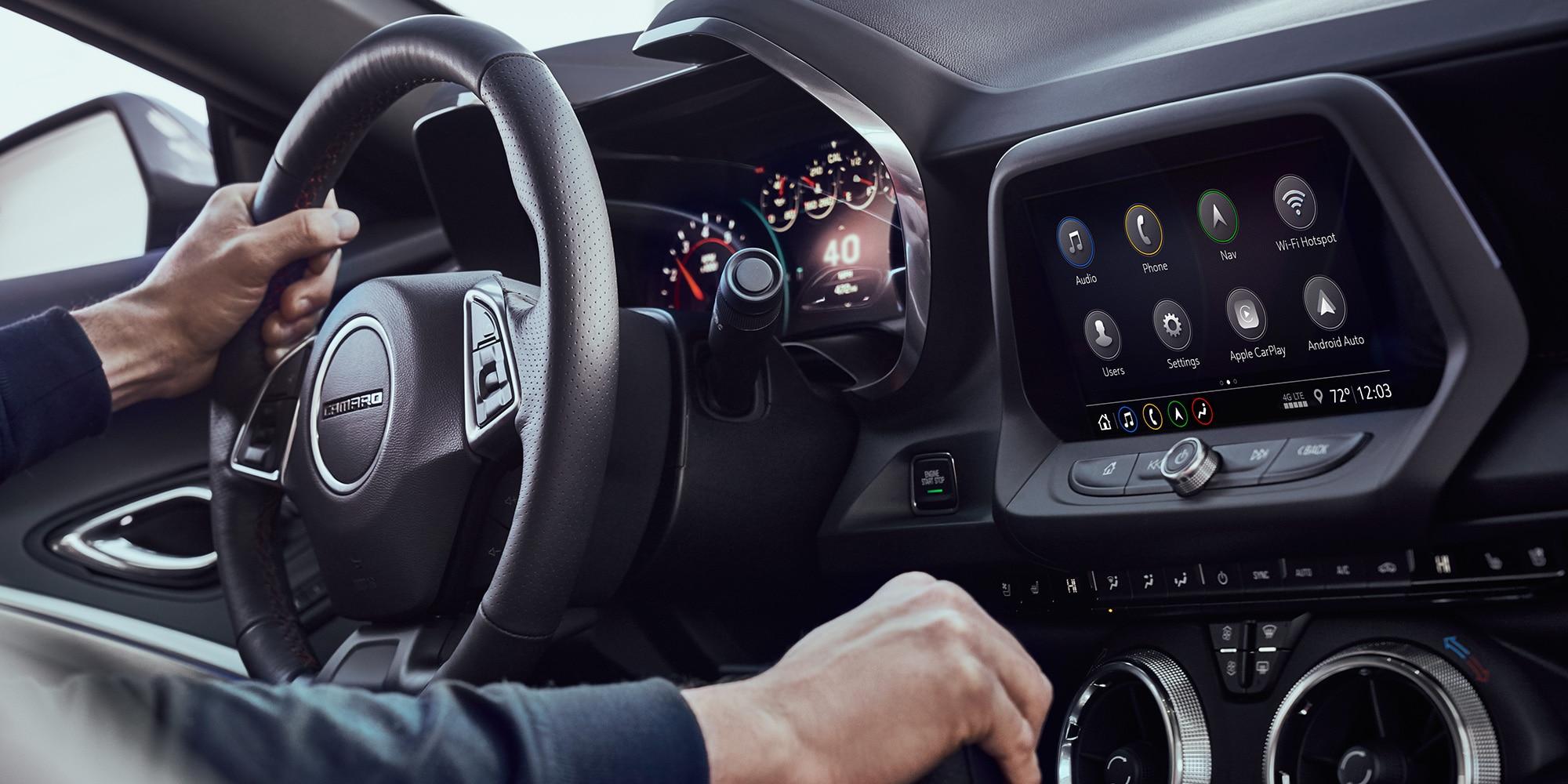 Tecnología del auto Chevrolet Performance: Apple CarPlay