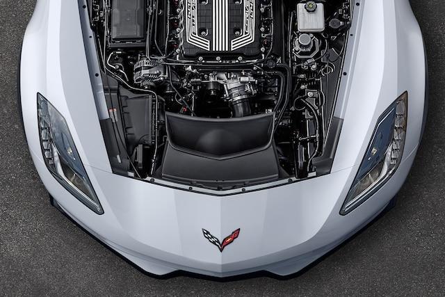 Foto del exterior de Corvette 2018: Motor