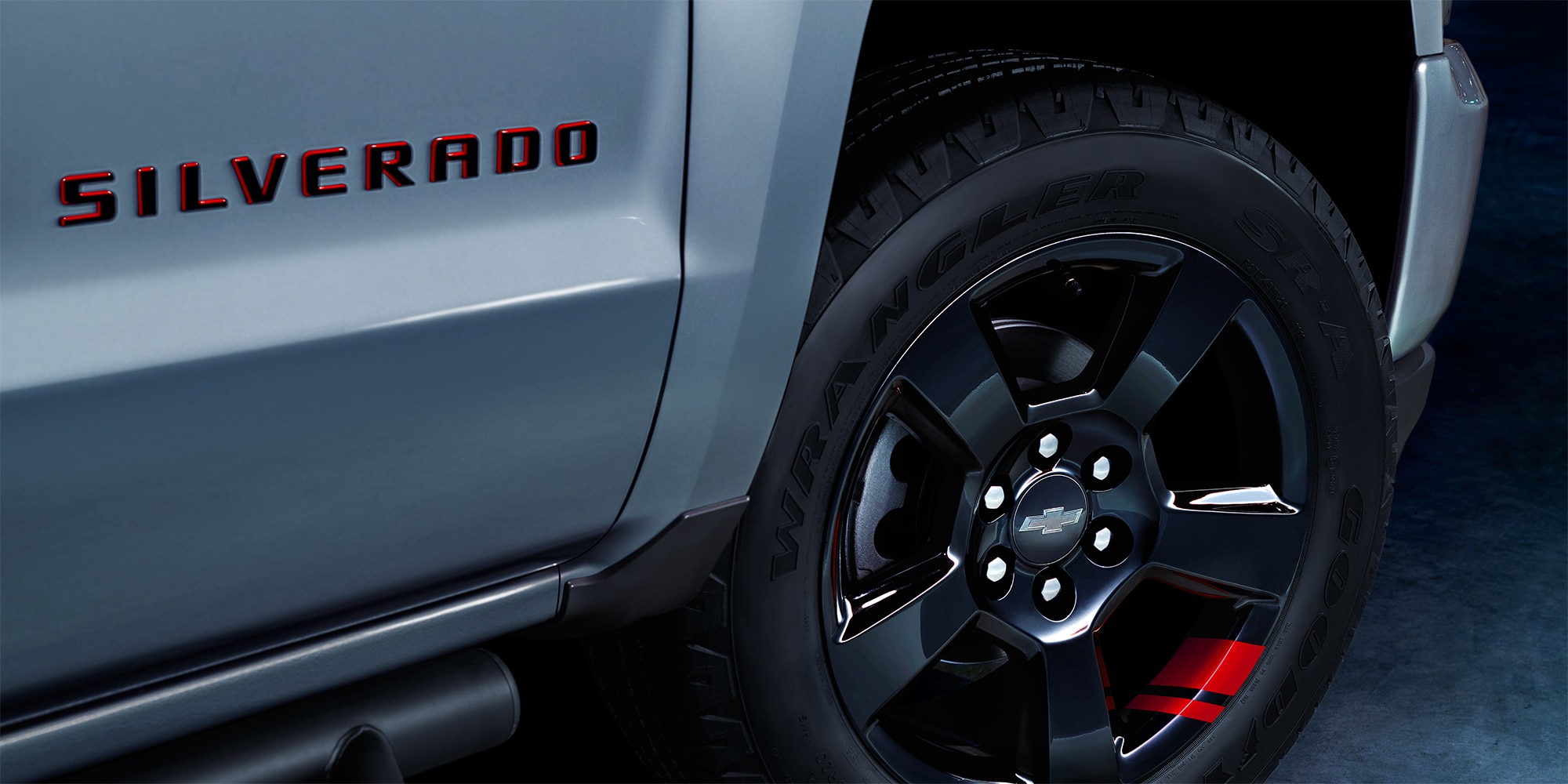 Detalles de la Serie Redline de Chevrolet:  Silverado