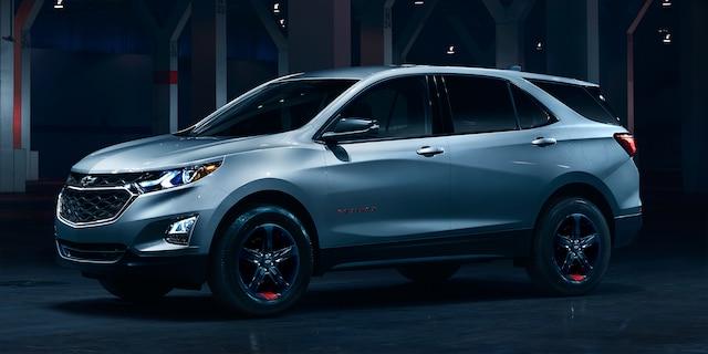 Catálogo de serie Redline de Chevrolet: Equinox 2018