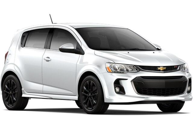 Comparación de autos compactos Chevrolet: Sonic