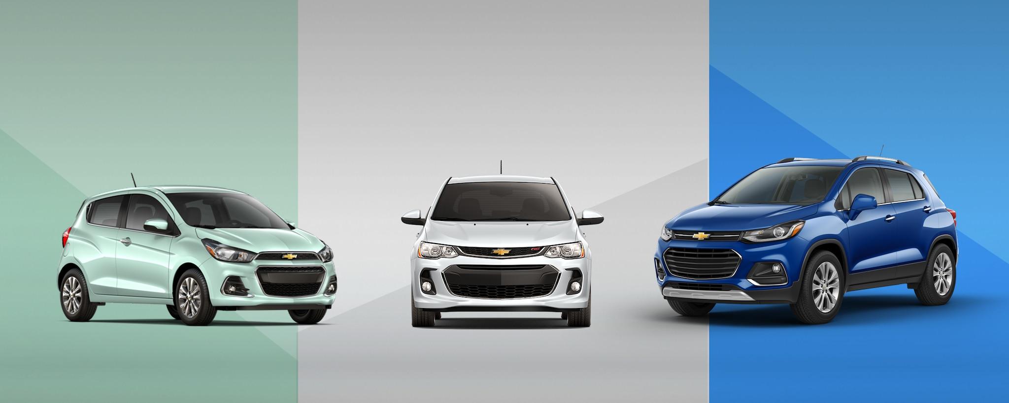 Autos compactos Chevrolet