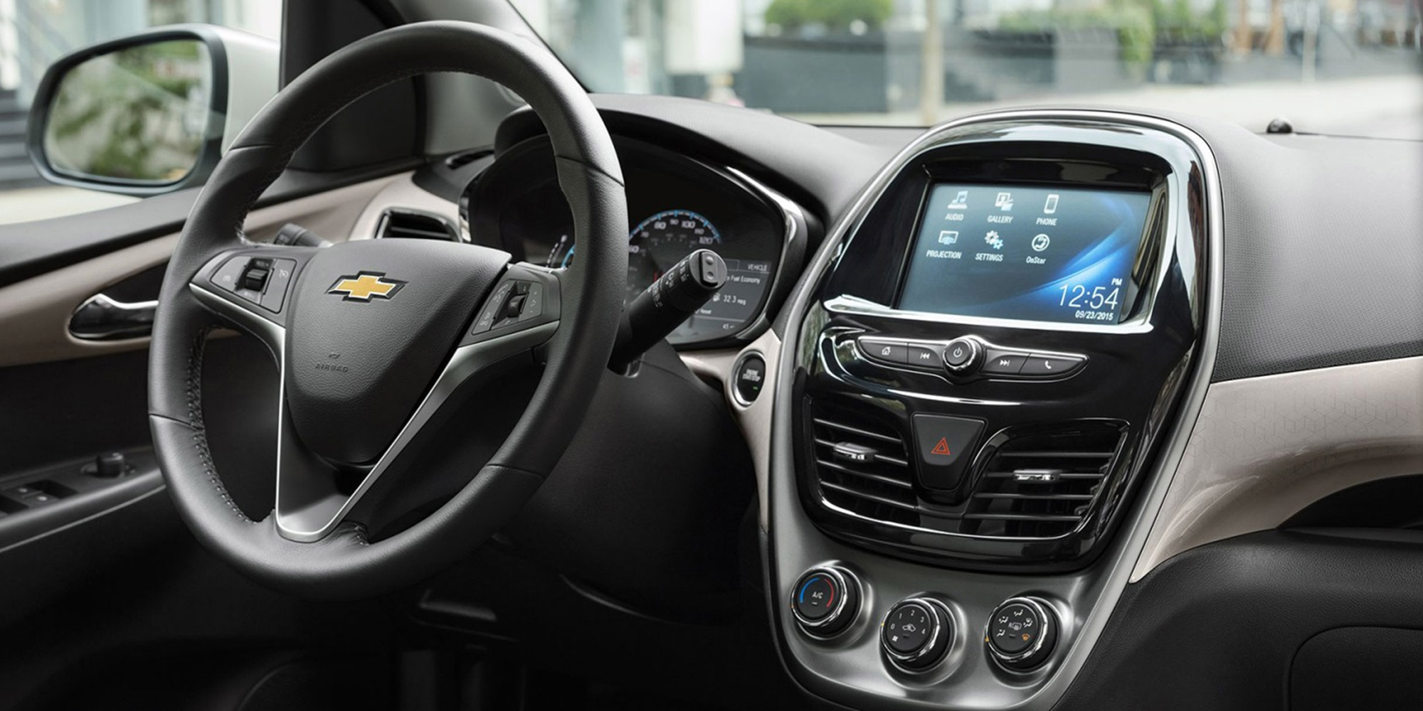 Tecnología de los autos compactos Chevrolet: Apple CarPlay