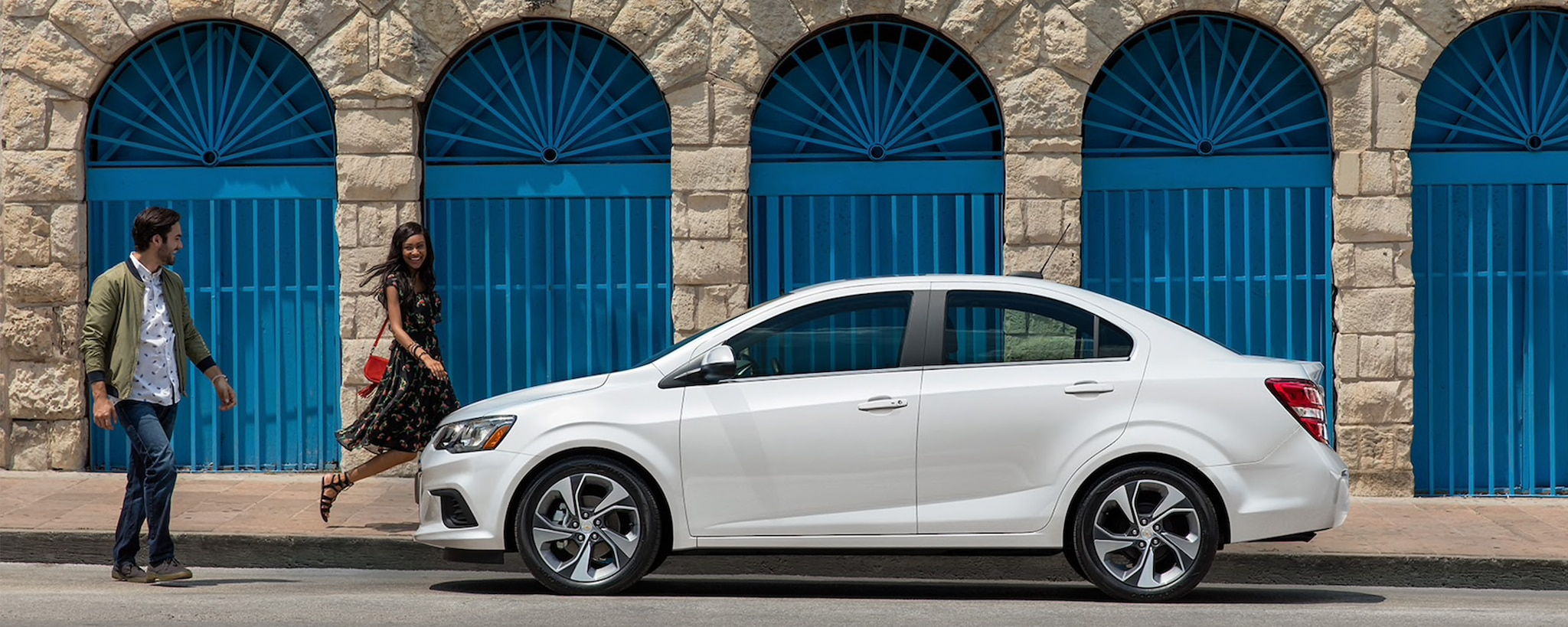 2019 Chevrolet Sonic Small Car Side Exterior