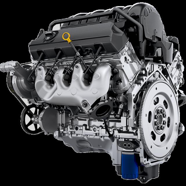 Gama de SUV Chevrolet: Motor EcoTec3 V8