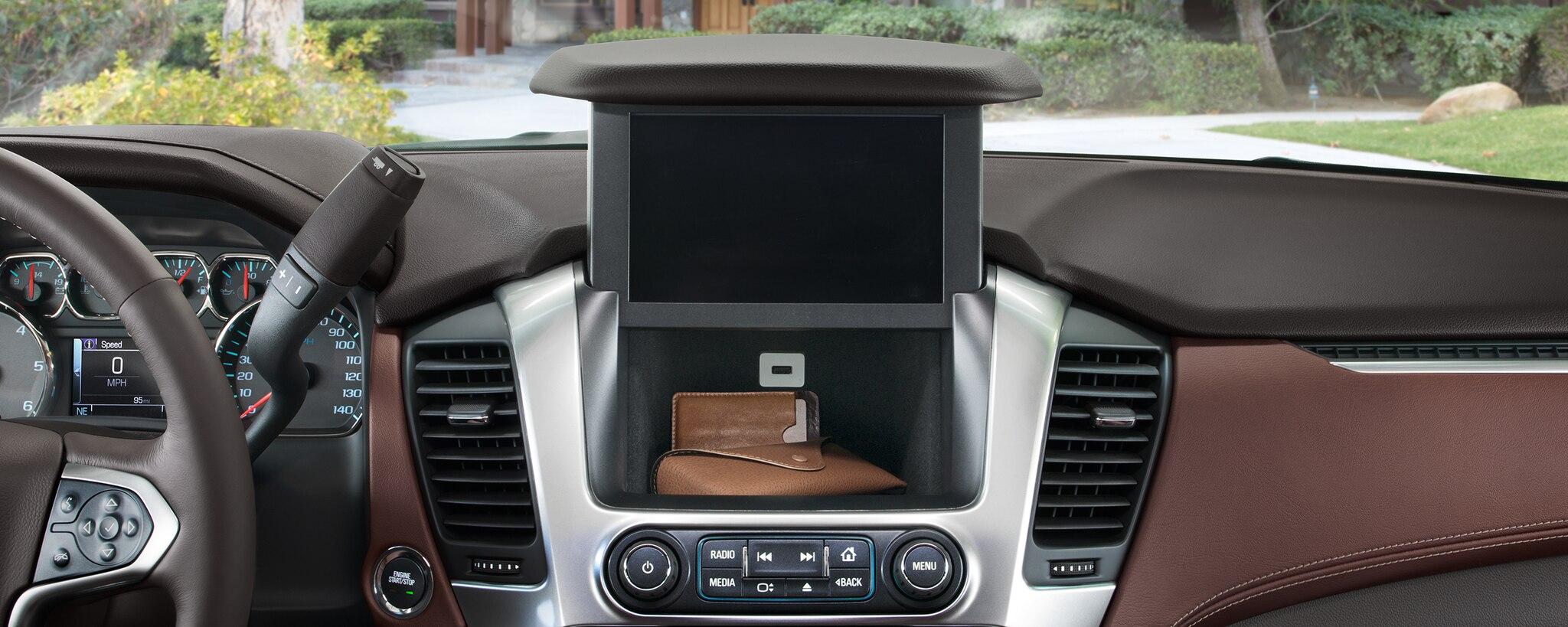 Gama de SUV Chevrolet: almacenaje oculto