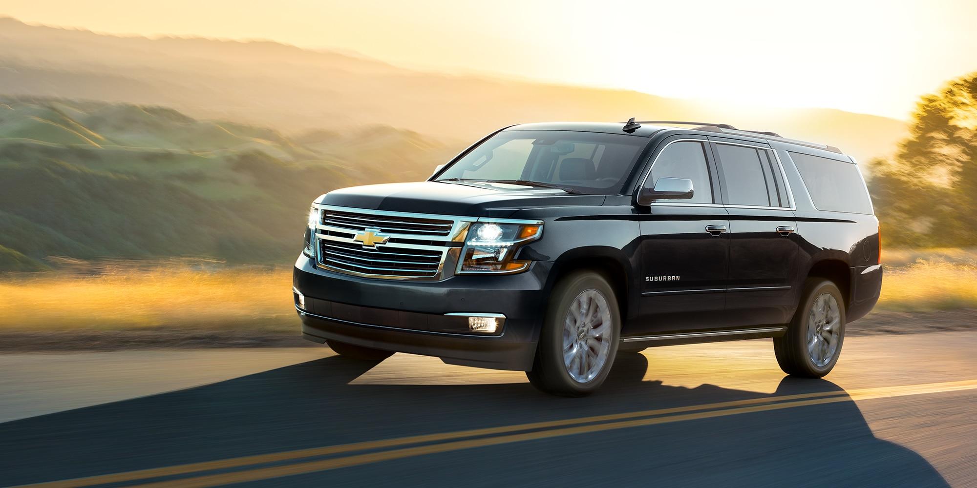 Gama de SUV Chevrolet: Suburban 2019