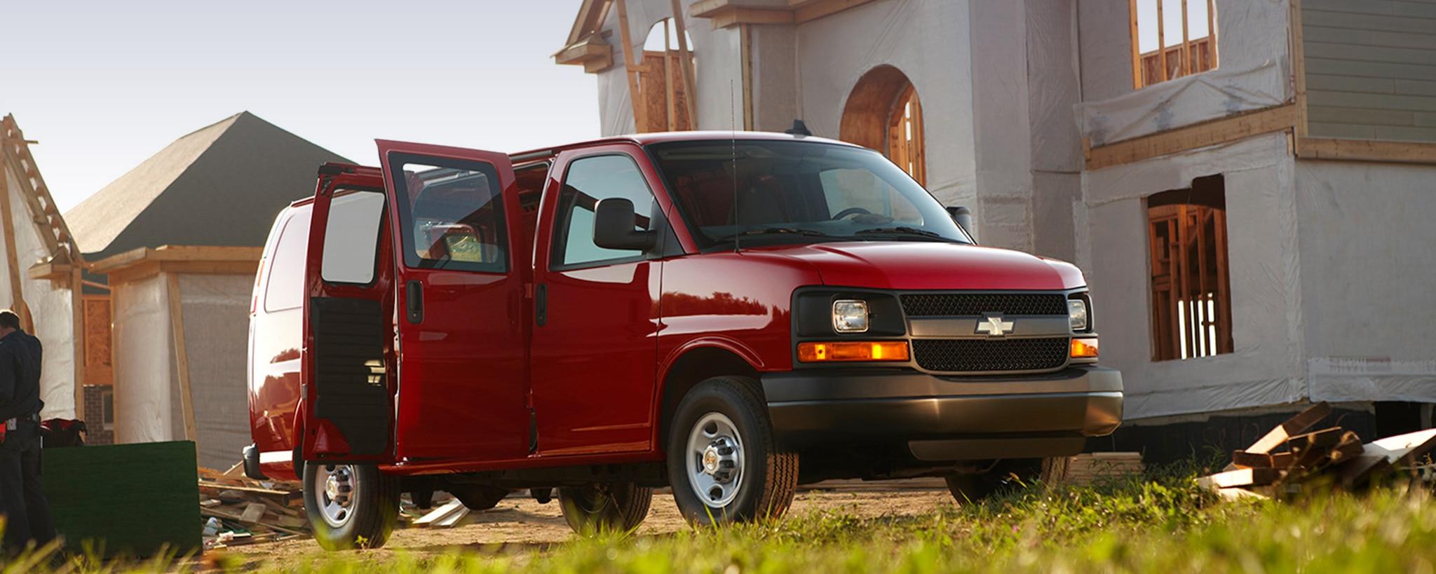 Van comercial de Chevrolet