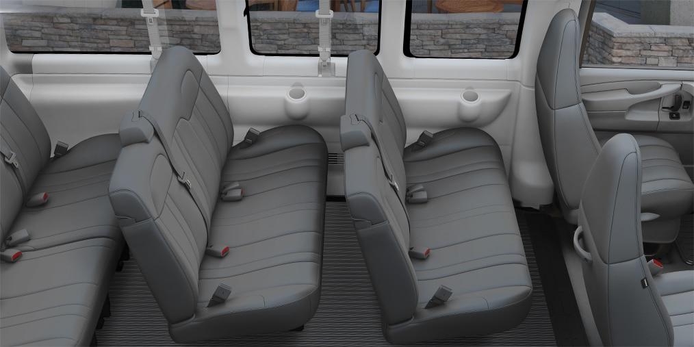 Vans de Chevrolet: Van Express Passenger