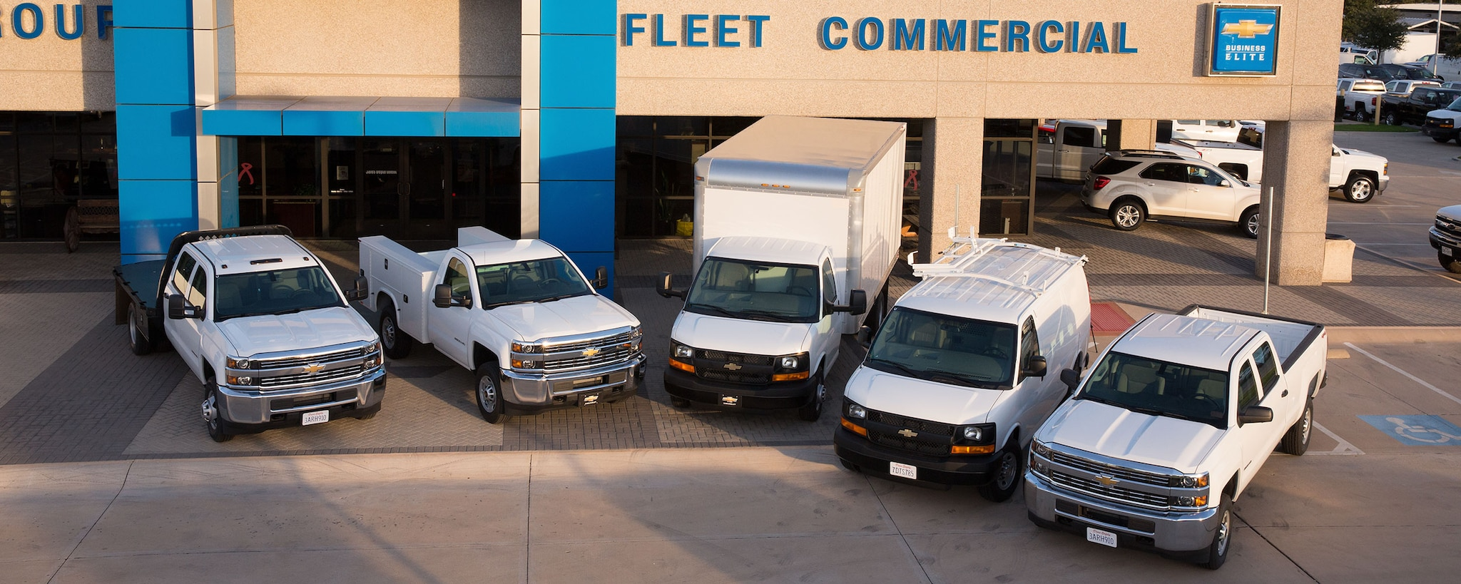 Gama de vehículos comerciales Chevrolet