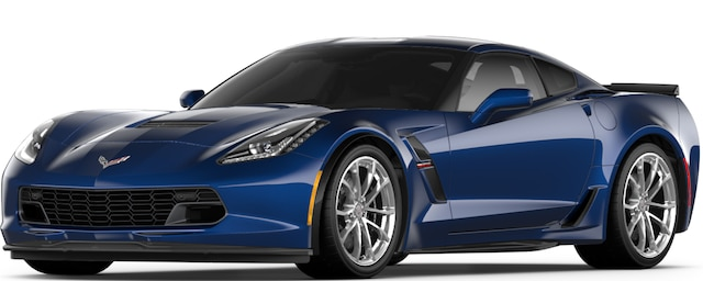 Corvette Grand Sport 2017: Vista frontal