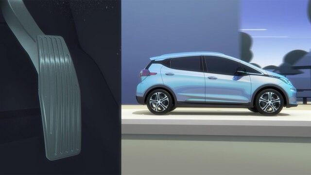 Auto eléctrico Bolt EV 2018: Conducción con un pedal