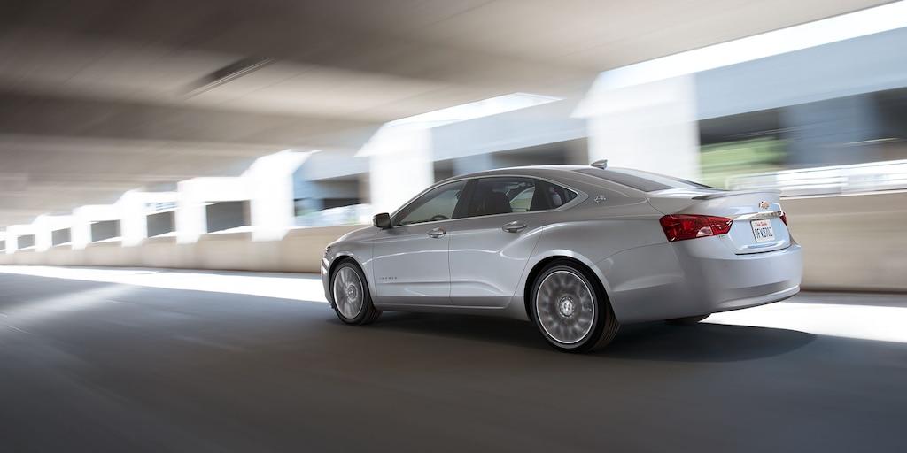 Foto del exterior del Impala 2018: aerodinámica