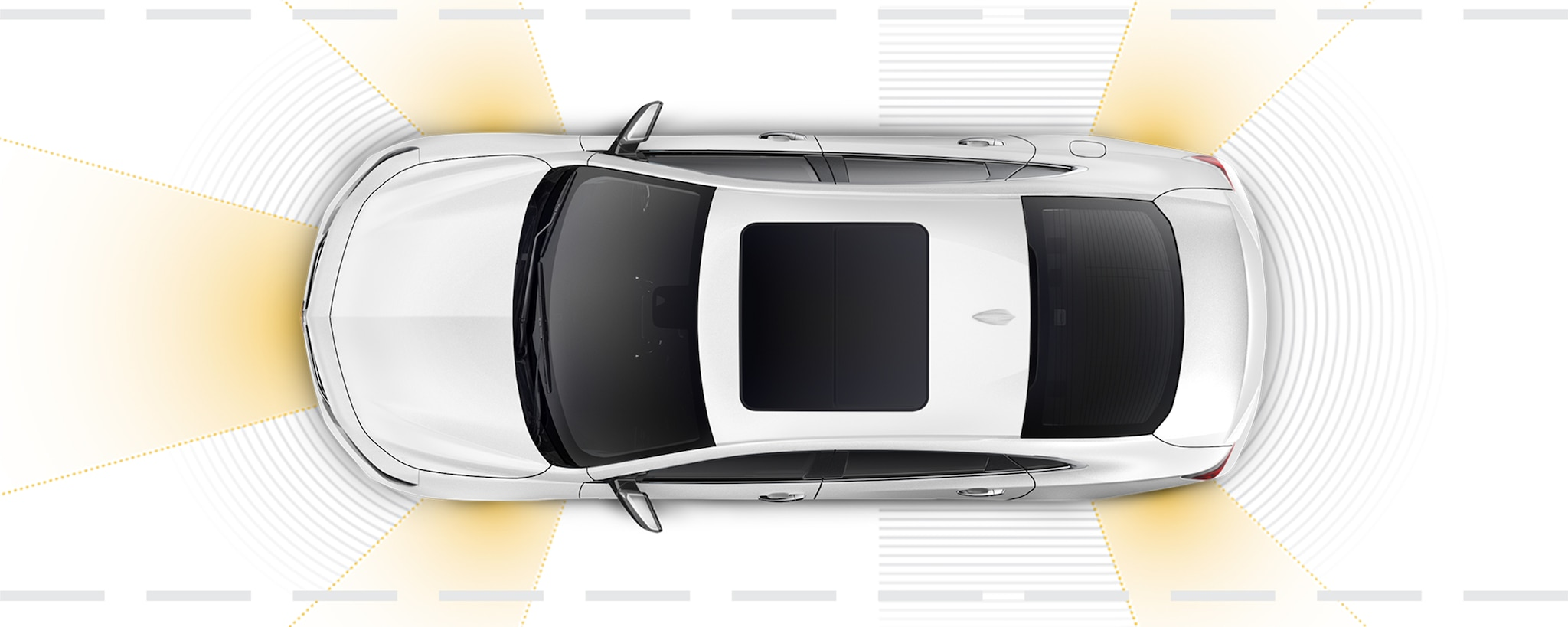 Seguridad del auto de tamaño mediano Chevrolet Malibu 2018: alertas de seguridad avanzadas
