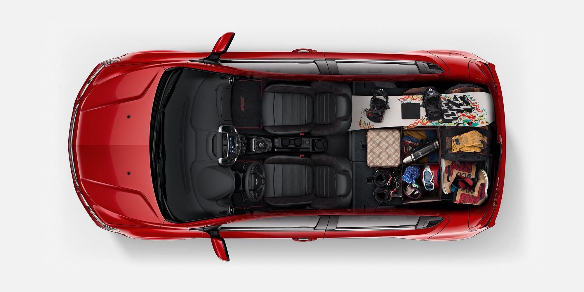 Diseño del auto compacto Chevrolet Sonic 2018: Fanático del aire libre
