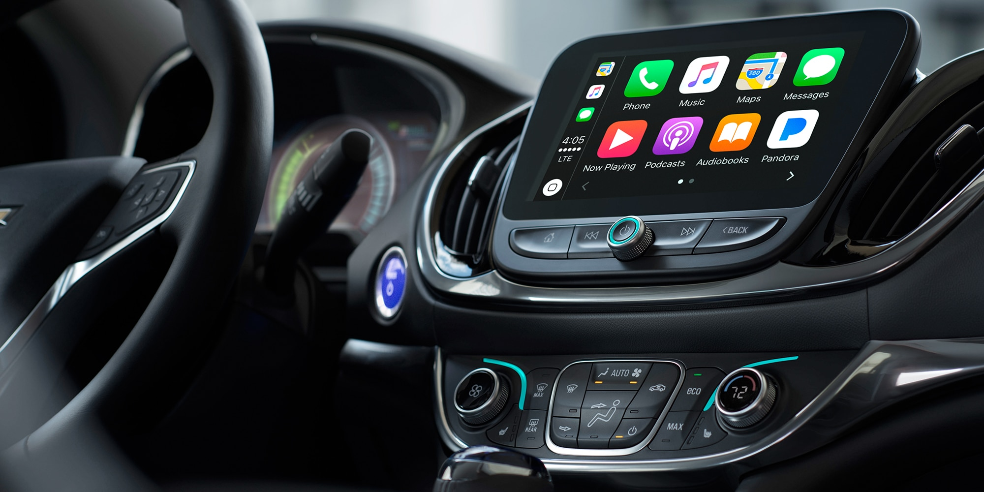 Tecnología del híbrido para enchufar Volt 2018: Apple CarPlay