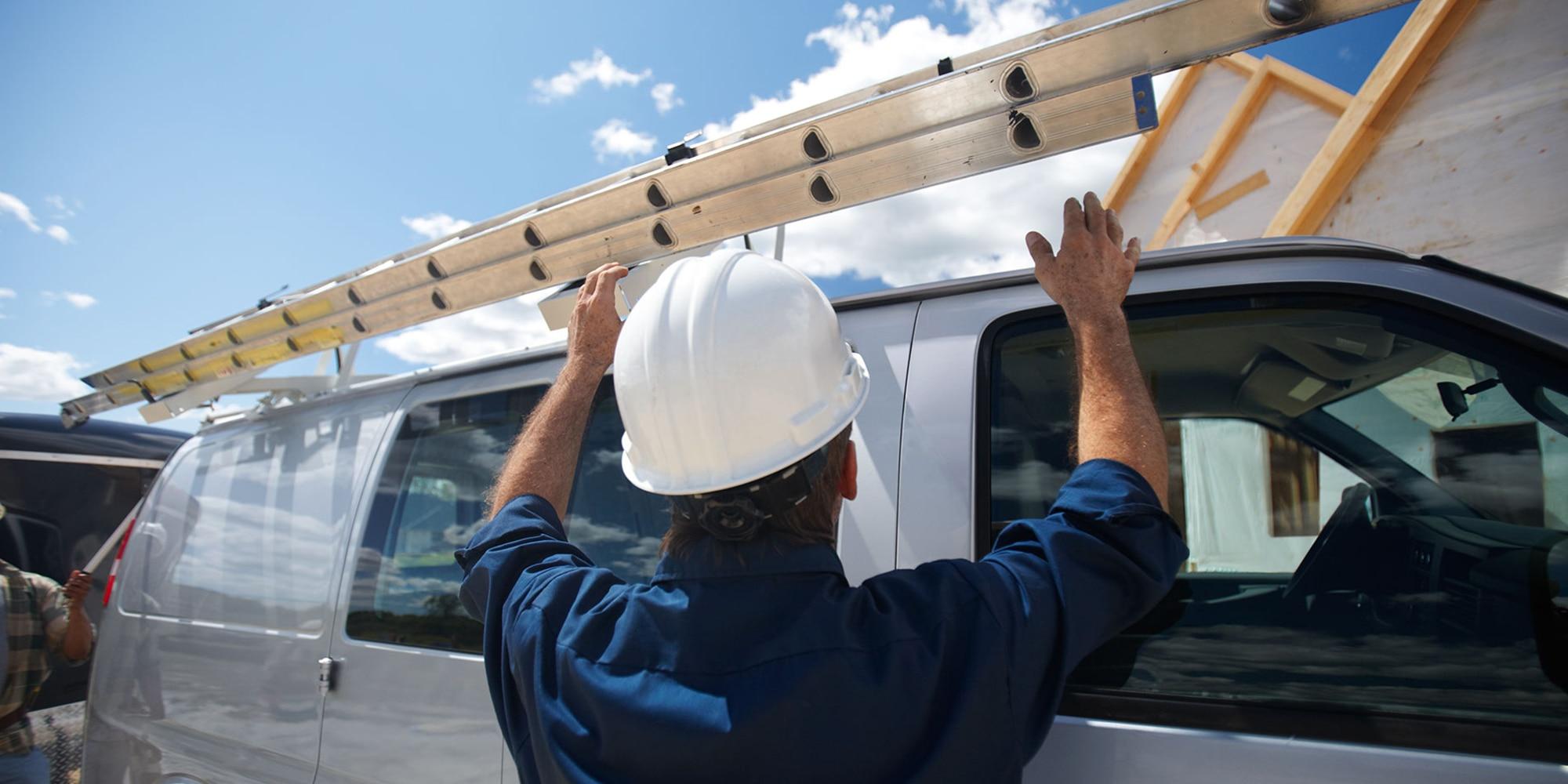 Opciones de organización en el interior de la van Express Cargo 2019