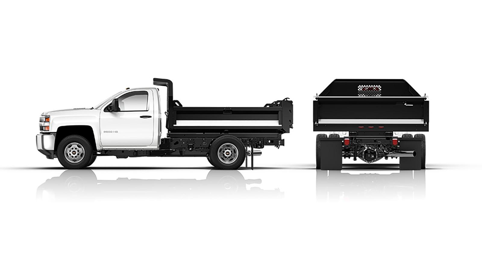 Mejoras para la camioneta chasis con cabina Silverado 2018: Volquete