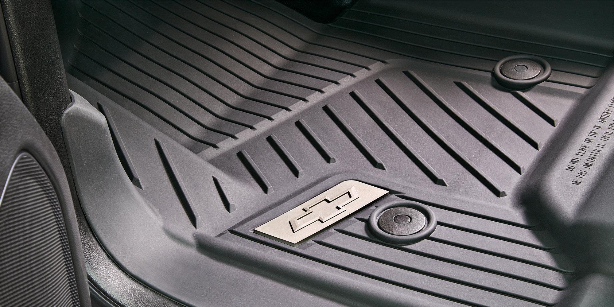 Accesorios para la camioneta comercial de trabajo Silverado 1500 2018: forros premium para el piso para todo tipo de clima