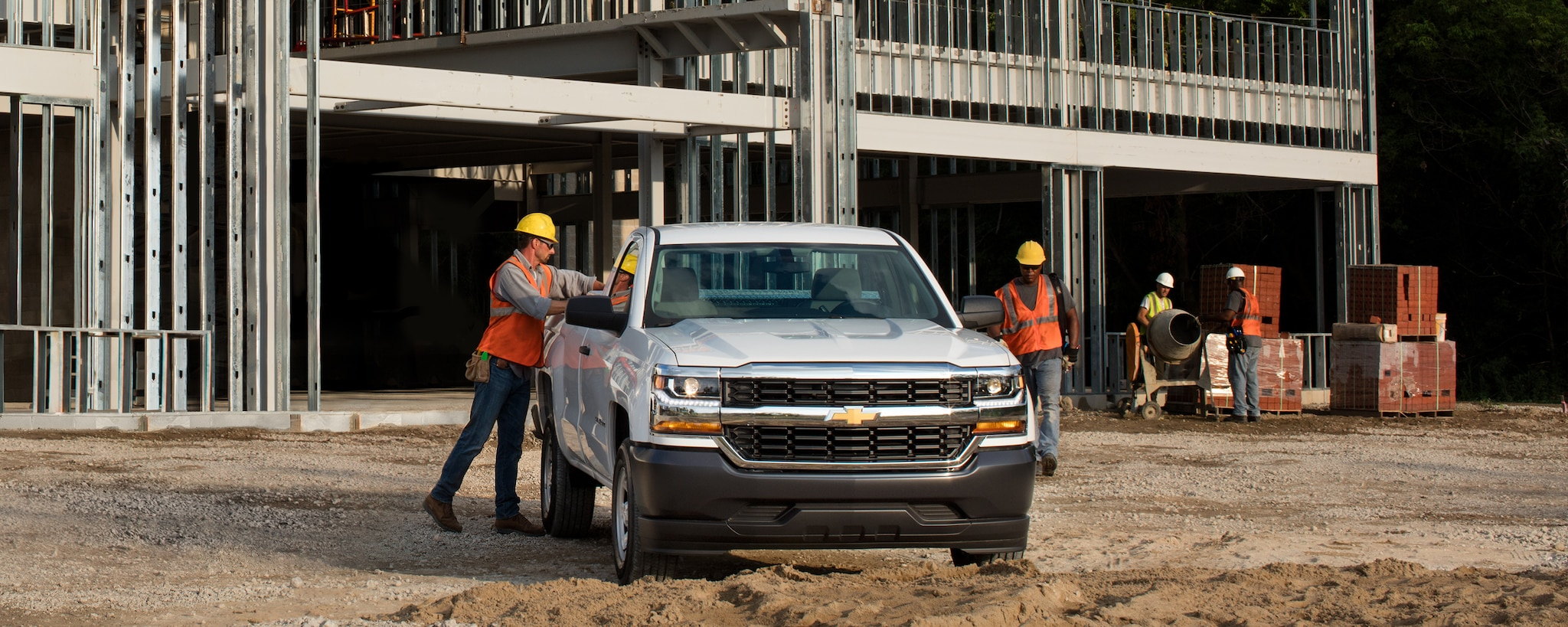 Camioneta comercial de trabajo Silverado 1500 2018