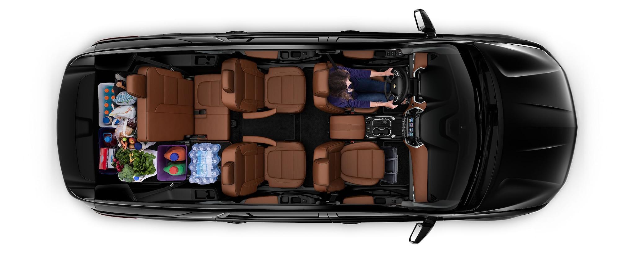 Diseño de la SUV mediana Traverse 2018 3
