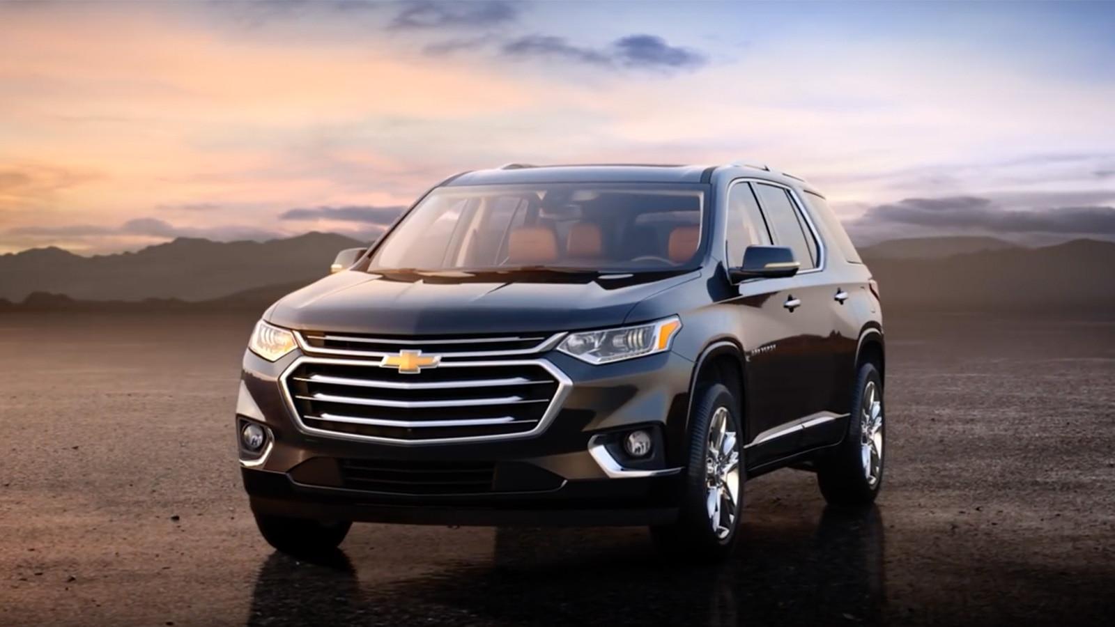 Traverse 2018: SUV de tamaño mediano | Chevrolet