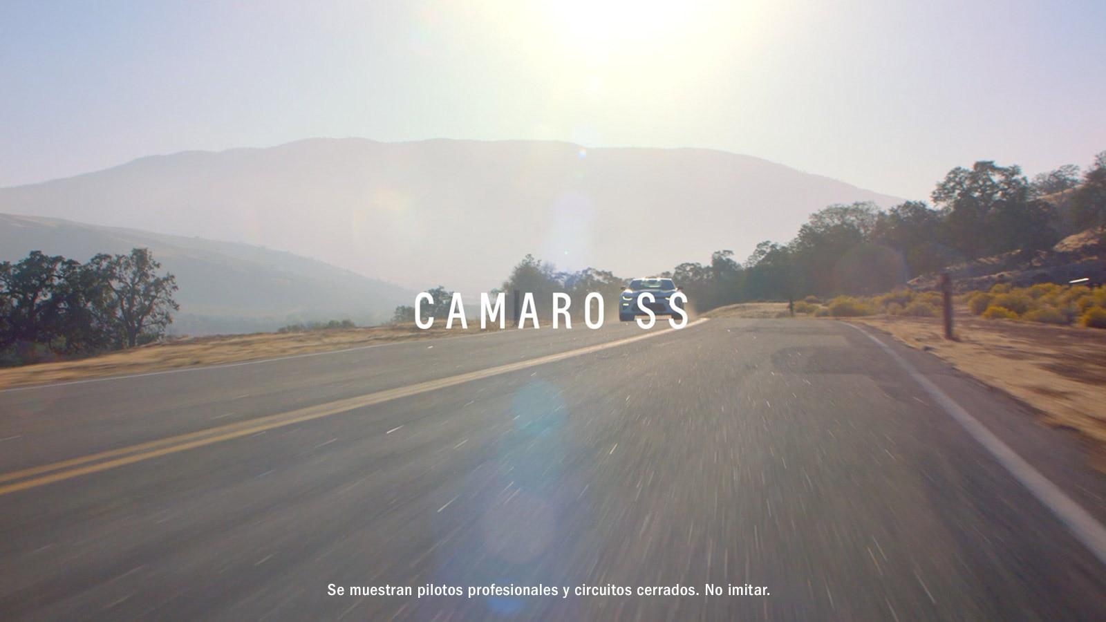 Auto deportivo Camaro 2018: SS
