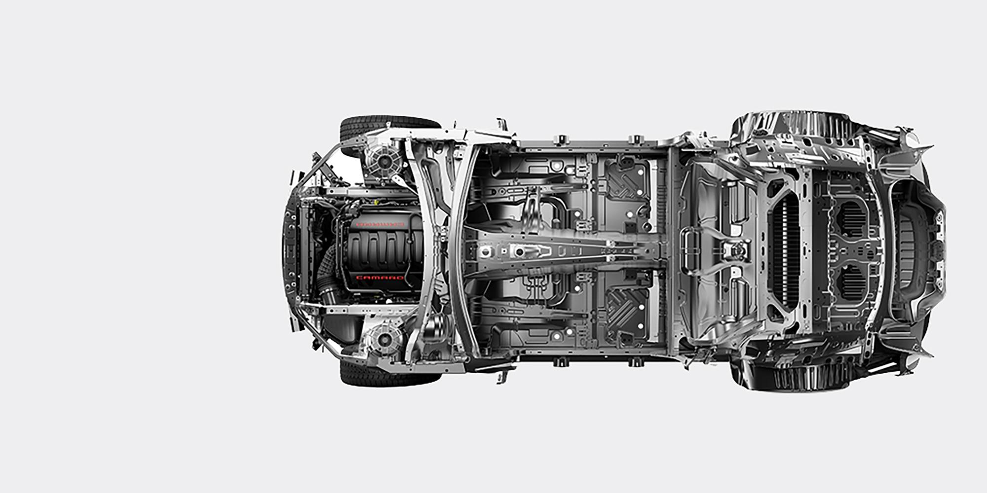 Desempeño del auto deportivo Camaro 2018: arquitectura