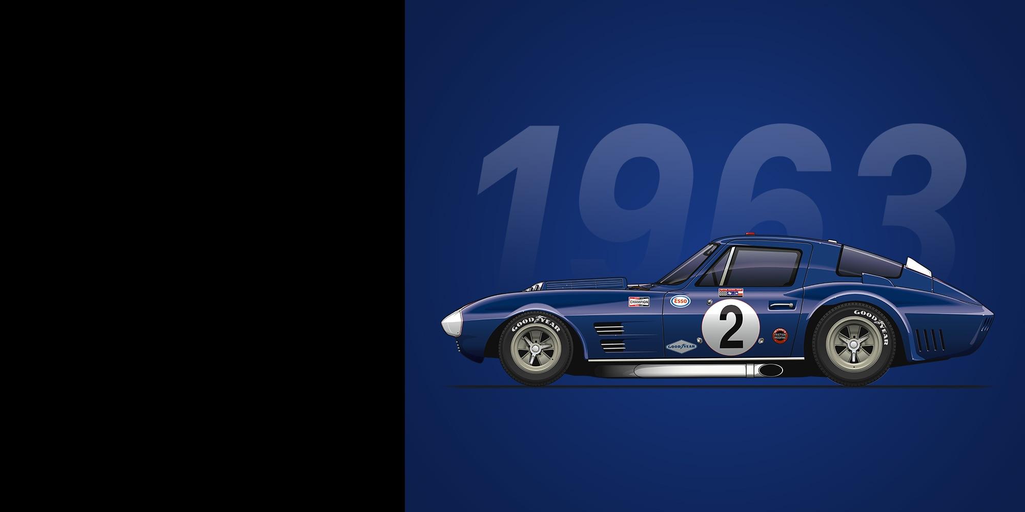 Auto deportivo Corvette Grand Sport 1963